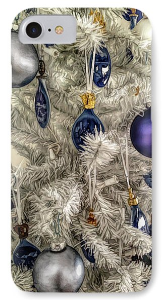 IPhone Case featuring the photograph Fine Wine Cafe Christmas Tree Ornaments by Aimee L Maher Photography and Art Visit ALMGallerydotcom