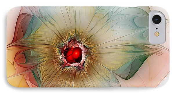 Finely Spruced Flower IPhone Case