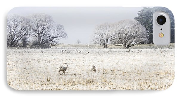 Fingal Winter Farmyard IPhone Case by Jorgo Photography - Wall Art Gallery