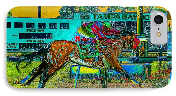 Finish Line IPhone Case by David Lee Thompson