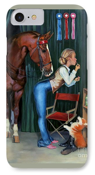 Finishing Touches IPhone Case by Jeanne Newton Schoborg