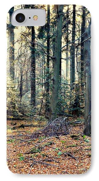 Fir Forest-2 IPhone Case by Henryk Gorecki