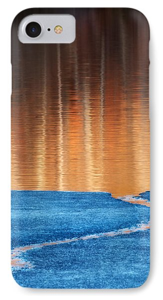 Fire And Ice IPhone Case by Bill Wakeley