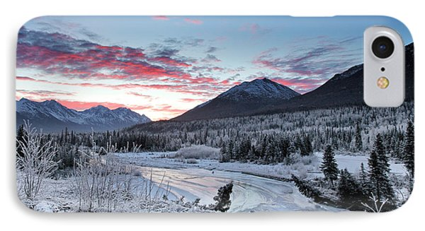 Fire And Ice IPhone Case by Ed Boudreau
