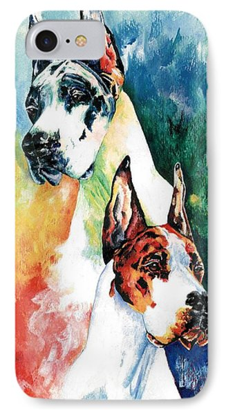Fire And Ice Phone Case by Kathleen Sepulveda