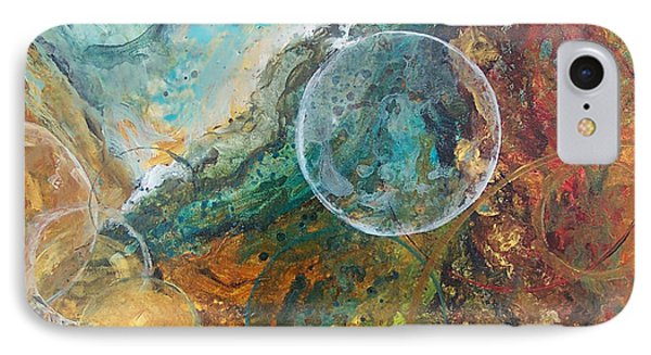 Fire And Ice Phone Case by Laura Swink