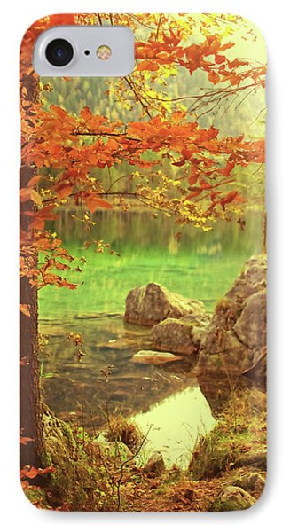 Fire And Water IPhone Case by AugenWerk Susann Serfezi