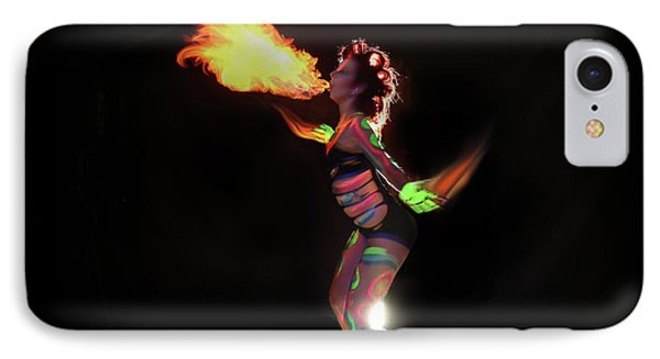 Fire Blowin IPhone Case by Andrew Nourse