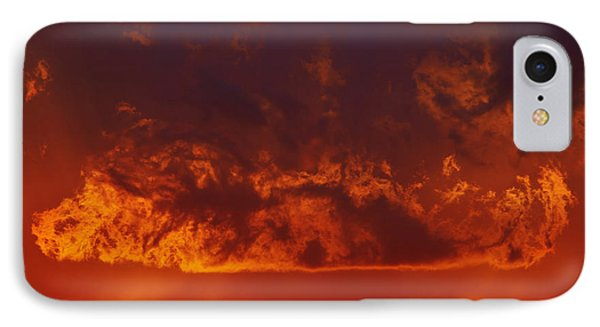 Fire Clouds Phone Case by Michal Boubin
