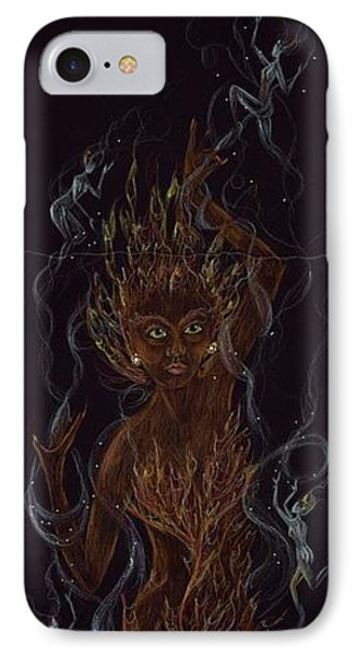 Fire IPhone Case by Dawn Fairies