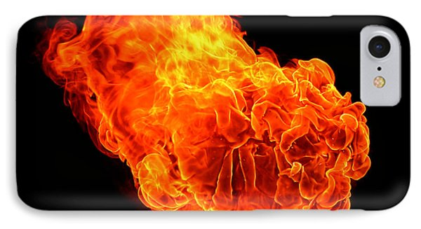 Fire IPhone Case by Emanuel Tanjala