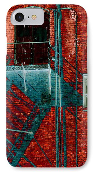 Fire Escape 7 Phone Case by Tim Allen