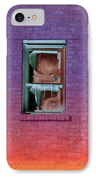Fire Escape Window 2 Phone Case by Tim Allen