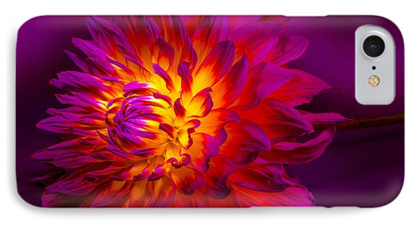 Fire Flower IPhone Case by Bruce Pritchett