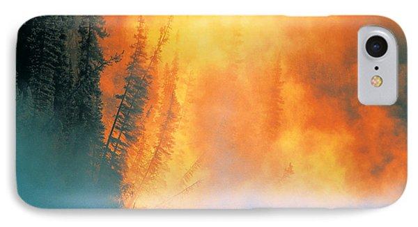 Fire Fly Fishing Phone Case by Darwin Wiggett