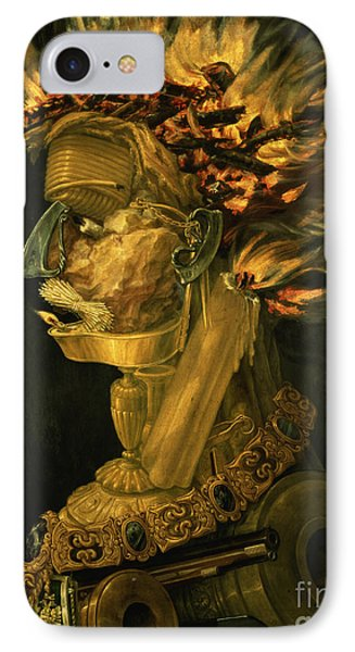 Fire Phone Case by Giuseppe Arcimboldo