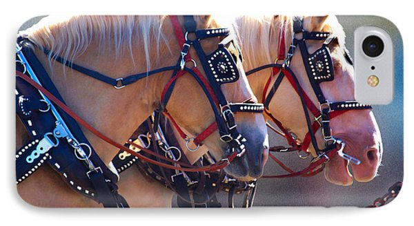 Fire Horses IPhone Case