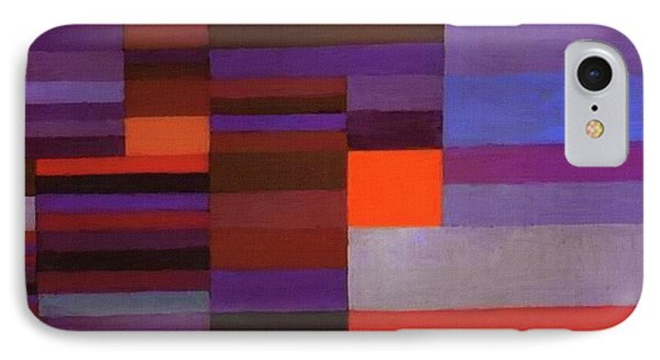 Fire In The Evening IPhone Case by Paul Klee