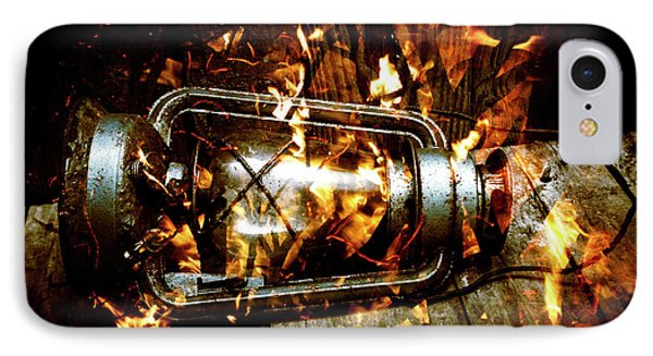 Fire In The Hen House IPhone Case by Jorgo Photography - Wall Art Gallery