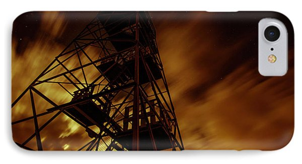 Fire In The Night IPhone Case