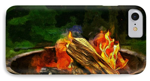Fire In The Pot - Pa IPhone Case