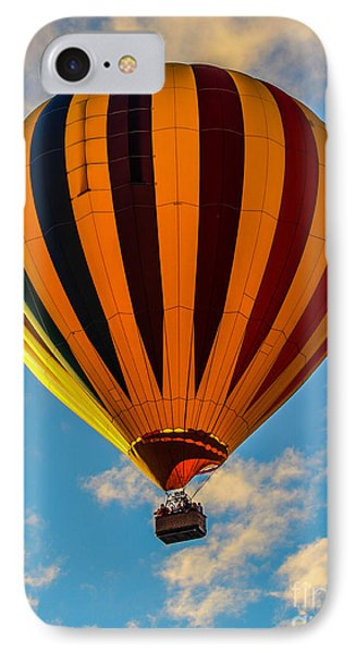 Fire In The Sky IPhone Case by Victory  Designs