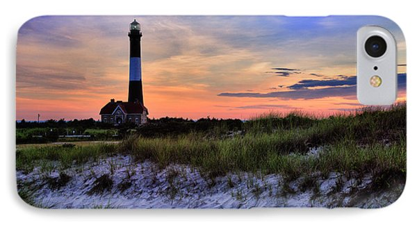 Fire Island Lighthouse IPhone Case by Rick Berk