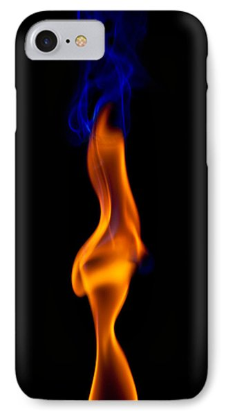 Fire Lady IPhone Case by Gert Lavsen