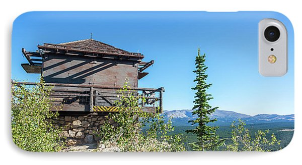 Fire Lookout Building IPhone Case