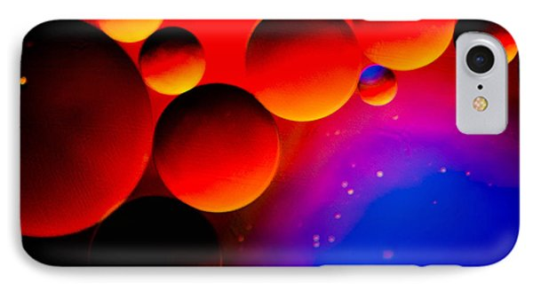 Fire Moons IPhone Case by Bruce Pritchett