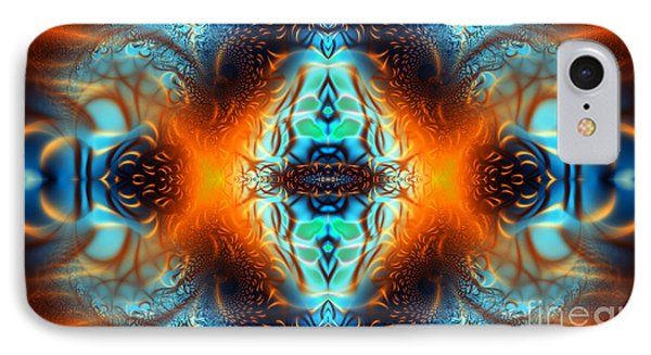 Fire Of Desire IPhone Case by Ian Mitchell