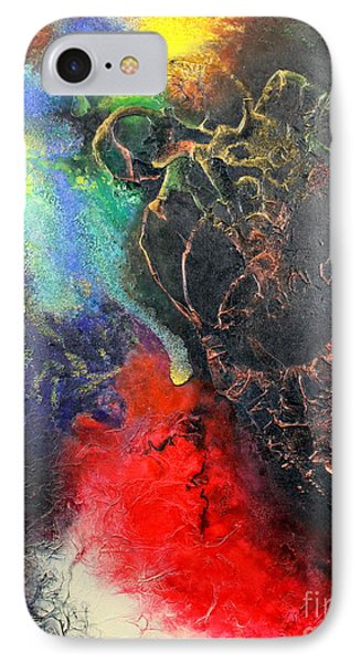 Fire Of Passion IPhone Case by Farzali Babekhan
