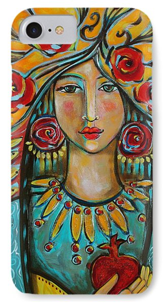Fire Of The Spirit Phone Case by Shiloh Sophia McCloud