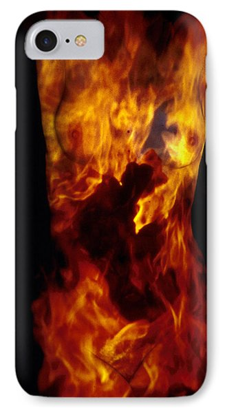Fire One  Phone Case by Arla Patch