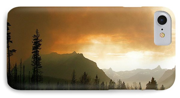 Fire Over St Mary IPhone Case