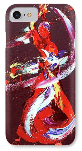 Fire IPhone Case by Penny Warden