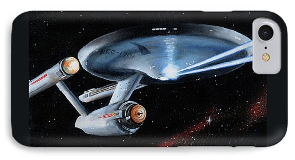 Fire Phasers IPhone Case by Kim Lockman