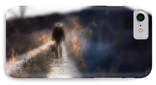 Fire Road Phone Case by Gray  Artus