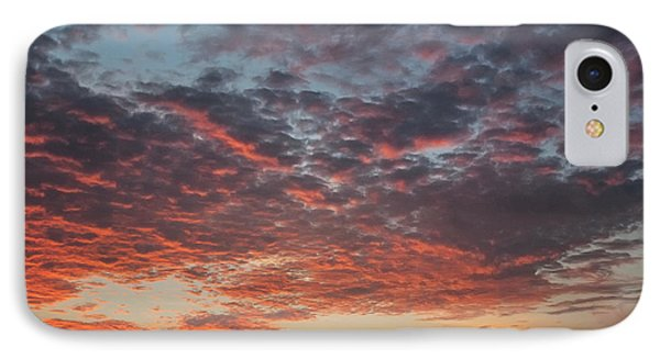 Fire Sky IPhone Case by Ana Mireles