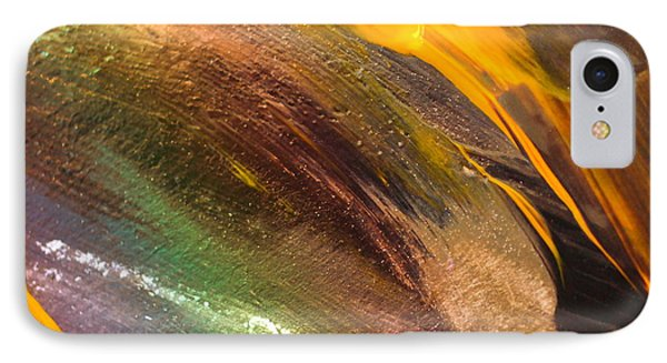 Fire Storm Abstract IPhone Case by Jeff Swan