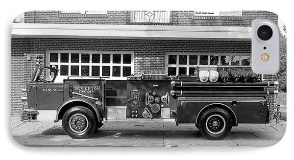 Fire Truck IPhone Case by Paul Seymour