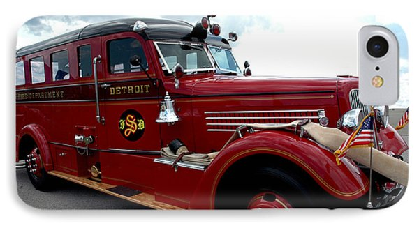 Fire Truck Selfridge Michigan IPhone Case
