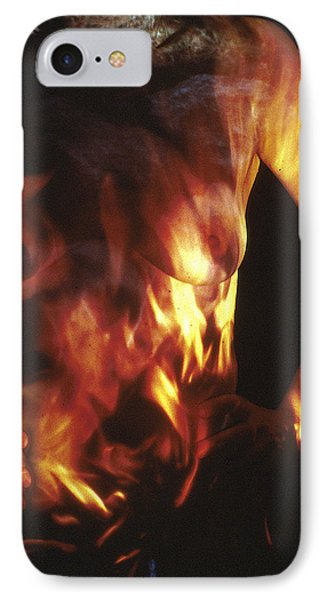 Fire Two Phone Case by Arla Patch