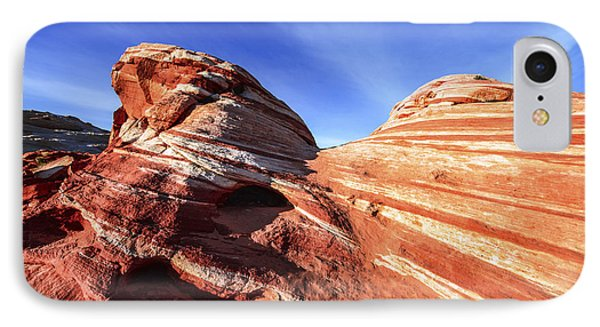 Desert iPhone 7 Case - Fire Wave by Chad Dutson