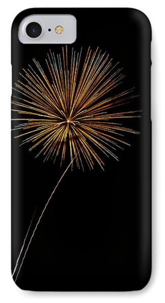 Fire Works Bursts Phone Case by Gary Langley