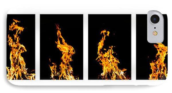 Fire X 6 Phone Case by Tomasz Dziubinski