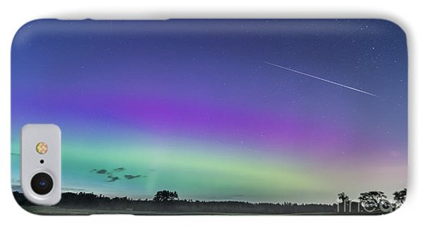 Fireball One Over The Farm IPhone Case by Patrick Fennell