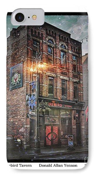 Firebird Tavern Phone Case by Donald Yenson