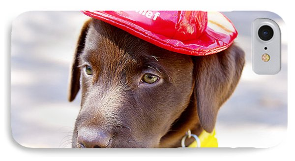 Firefighter Pup IPhone Case