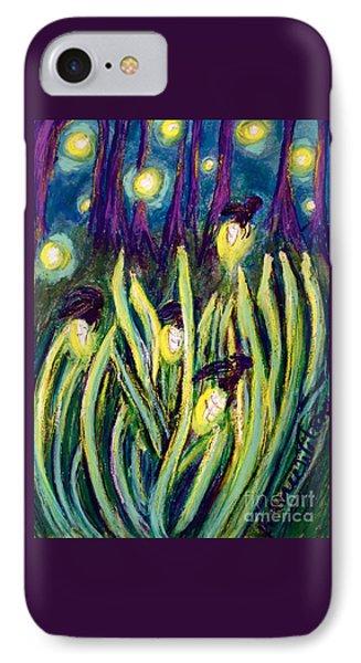 Fireflies IPhone Case by D Renee Wilson